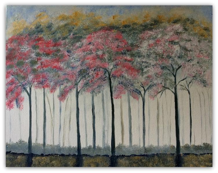 40 - 60 De røde træer
