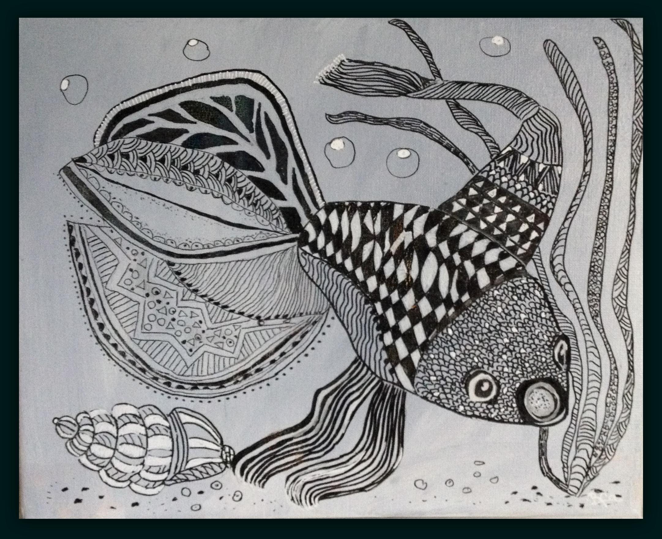 doodle fisken
