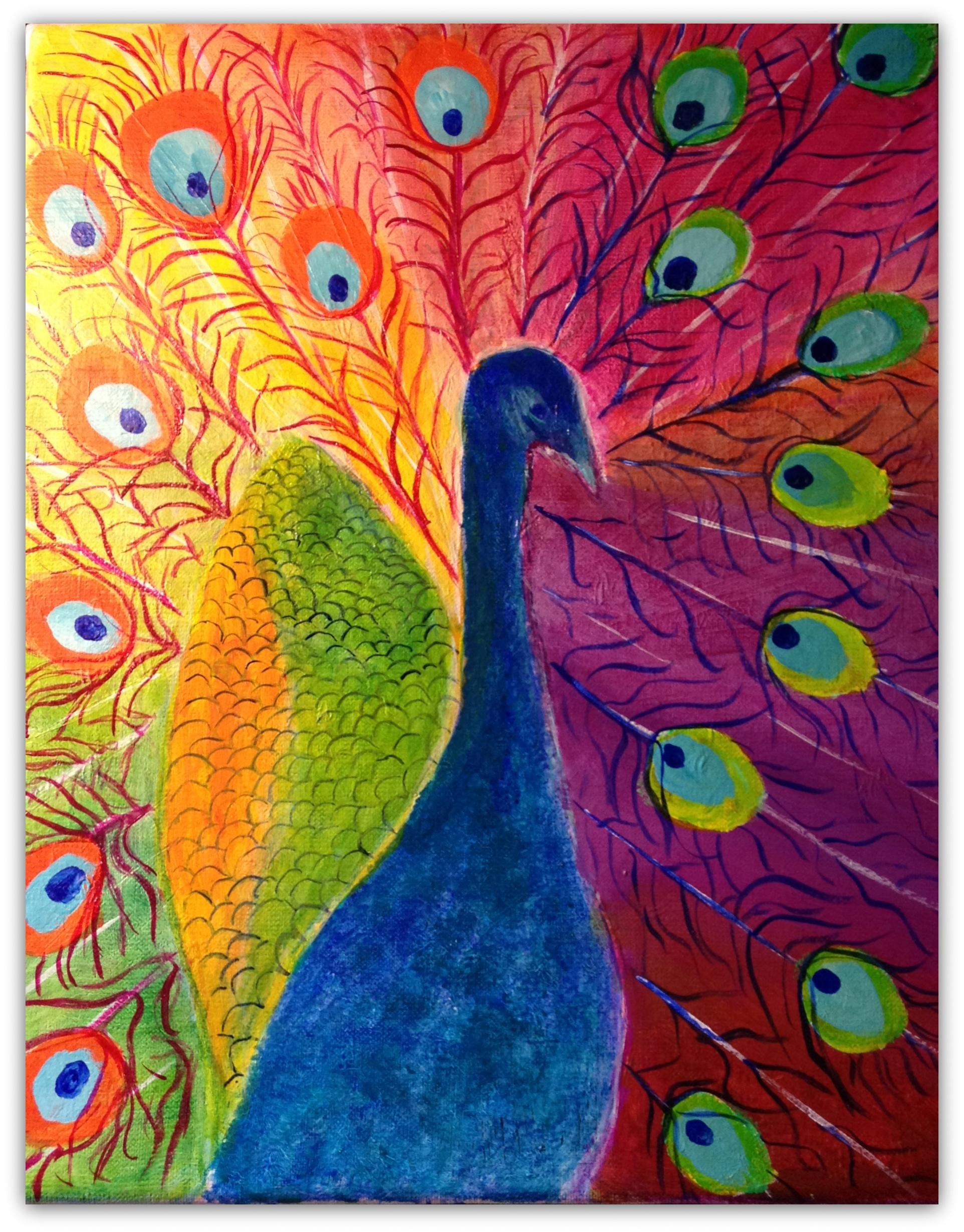 påfuglen