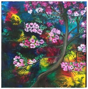 Abstrakt træ 30 - 30