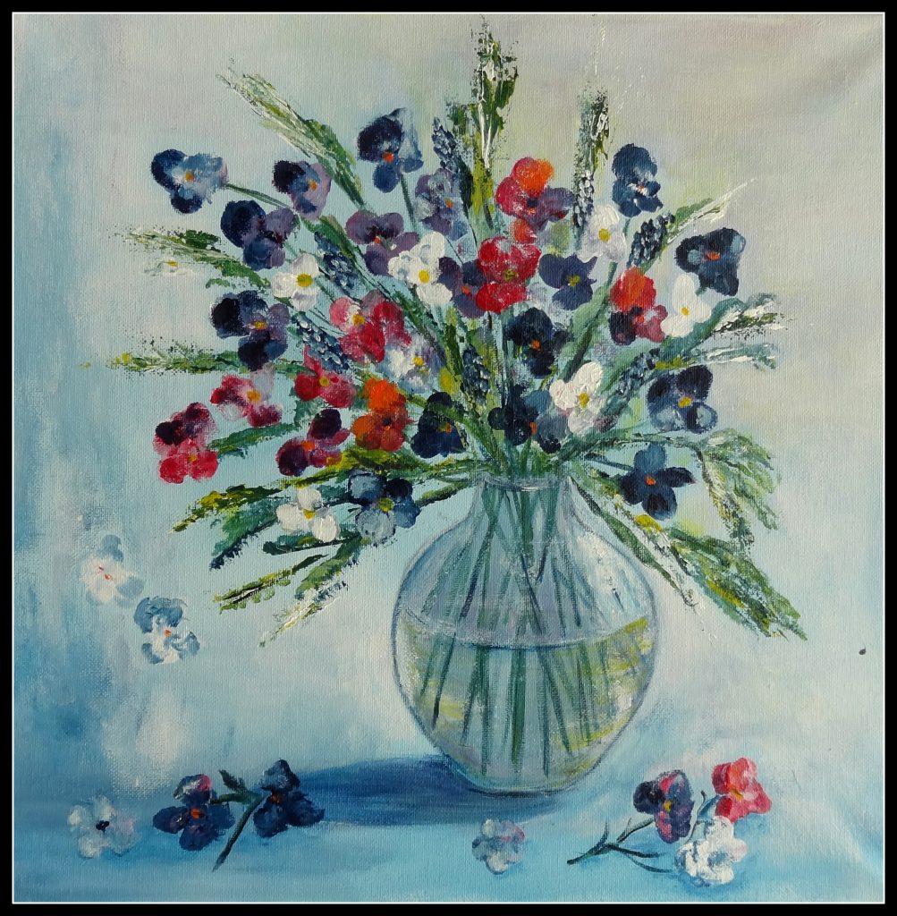 Blomster der trænger til at blive skiftet 40 - 40