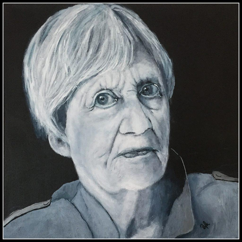 Portræt af en ældre dame :-)