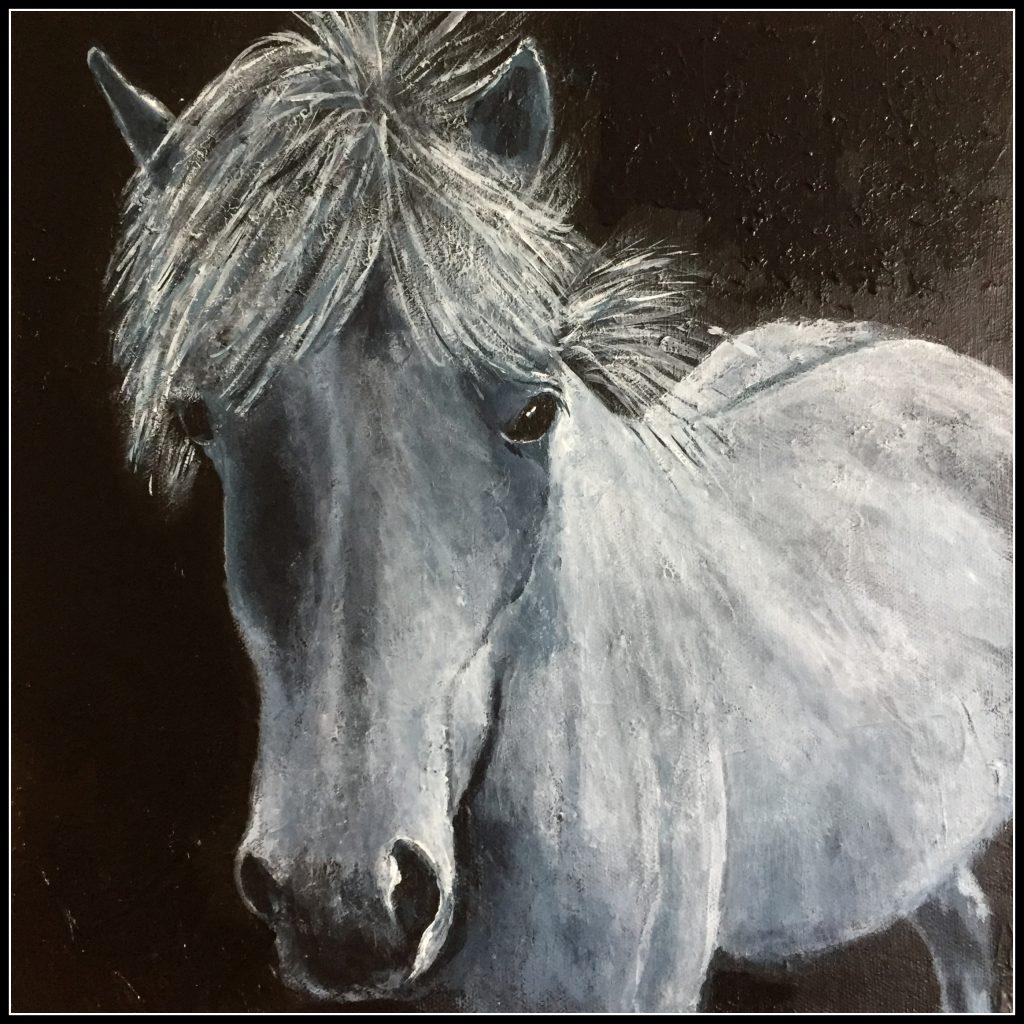 Portræt af en hest :-)