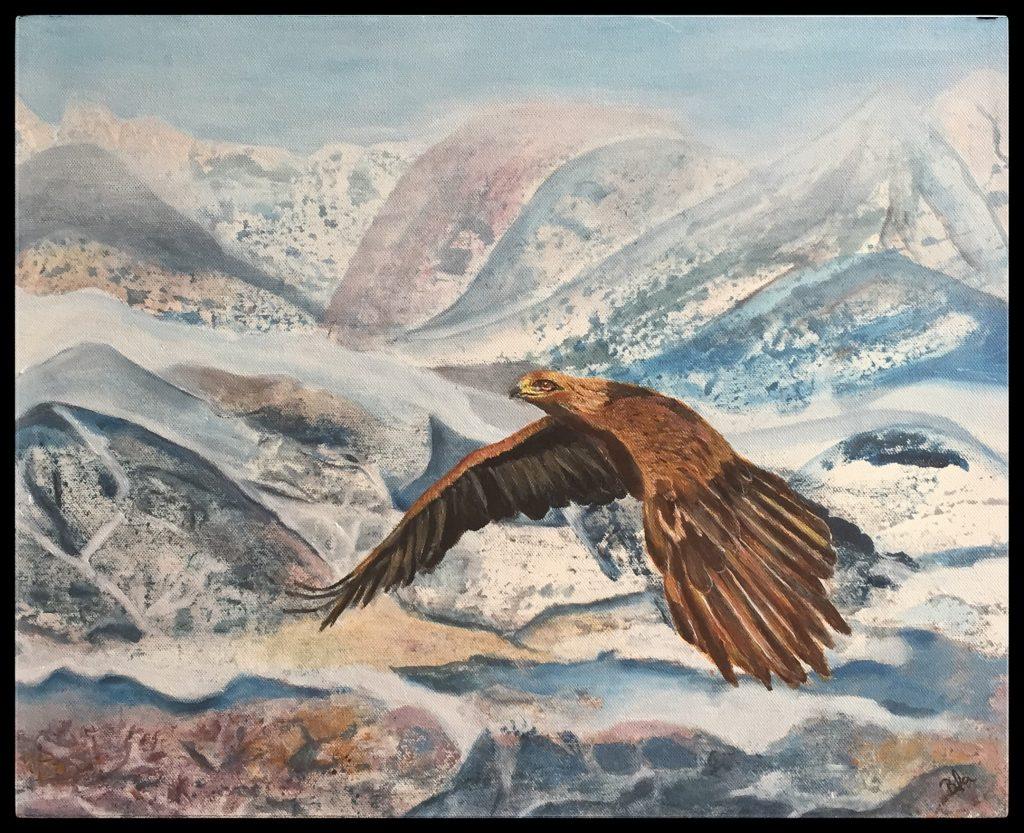 ørnen flyver